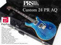Paul Reed Smith(PRS)  Custom 24 PR AQ  Aquqmarine 2019 New Color 2019年製